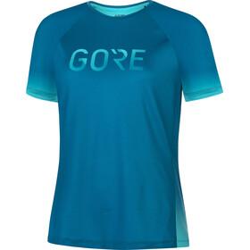 GORE WEAR Devotion Shirt Women, azul/Turquesa